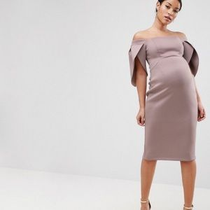 Evening Maternity Cocktail Dress